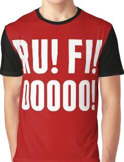 RUFIO in white Graphic T-Shirt