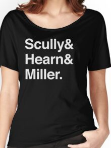 Scully and Hearn and Miller - Dark Version Women's Relaxed Fit T-Shirt