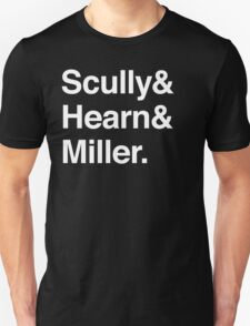 Scully and Hearn and Miller - Dark Version Unisex T-Shirt