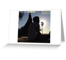 3005 Gambino Greeting Card