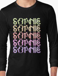 SOPHIE MSMSMSM RAINBOW LOGO Long Sleeve T-Shirt