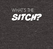 What's the sitch? in white Unisex T-Shirt