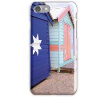 Brighton Beach Huts iPhone Case/Skin