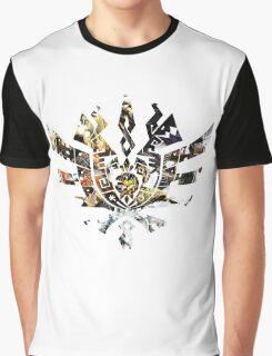 Monster Hunter 4 Ultimate Monsters Graphic T-Shirt