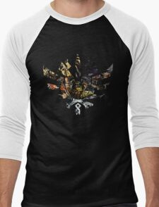 Monster Hunter 4 Ultimate Monsters Men's Baseball ¾ T-Shirt