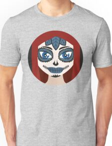 Sugar Skull Girl Make up Unisex T-Shirt