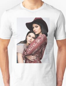 Kendall and Kylie Jenner Pattern Unisex T-Shirt
