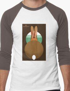 rabbit in a burrow  Men's Baseball ¾ T-Shirt