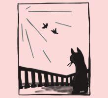 Bird watching One Piece - Short Sleeve