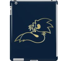 Sonic and Tails - GOTTA GOLD FAST iPad Case/Skin