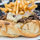 Steak Sandwich and French Fries by Michael Moriarty