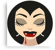 Vampire Girl Dream Canvas Print