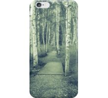 Path through forest. iPhone Case/Skin