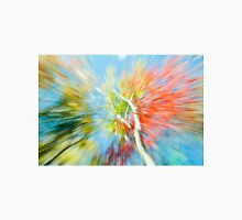 Vibrant nature abstract zoom blur Unisex T-Shirt