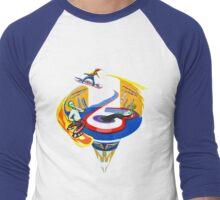 The Alien Party Men's Baseball ¾ T-Shirt