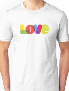 LOVE Collection by of paper & pixels Unisex T-Shirt