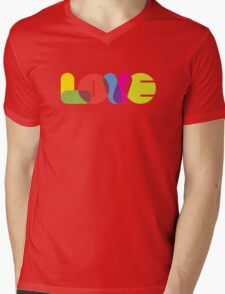 LOVE Collection by of paper & pixels Mens V-Neck T-Shirt