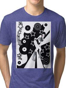 Retro Glam Discotheque Tri-blend T-Shirt