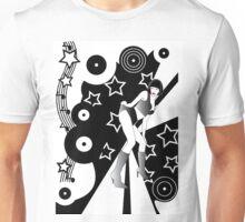 Retro Glam Discotheque Unisex T-Shirt
