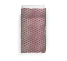 Amanita Spotted White Red Mushrooms Beware ~ Kirsten Don't Go There ! Duvet Cover