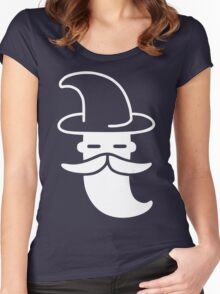 Minimal Wizard Women's Fitted Scoop T-Shirt