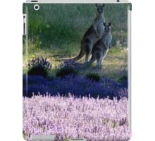 Evening in the Lavender  iPad Case/Skin