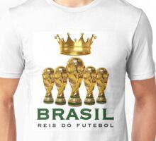 Brasil reis do futebol Unisex T-Shirt
