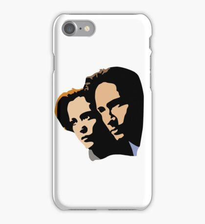 Mulder and Skully iPhone Case/Skin