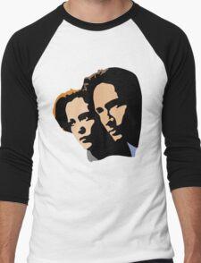 Mulder and Skully Men's Baseball ¾ T-Shirt