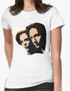 Mulder and Skully Womens Fitted T-Shirt
