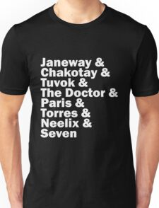 Star Trek Voyager Crew Unisex T-Shirt