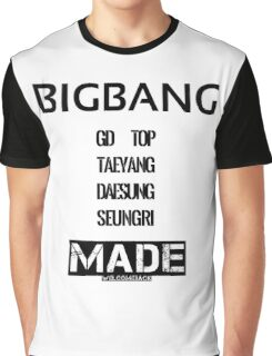 BIGBANG 'MADE' FANMADE Graphic T-Shirt