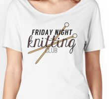 Friday Night Knitting Club Women's Relaxed Fit T-Shirt