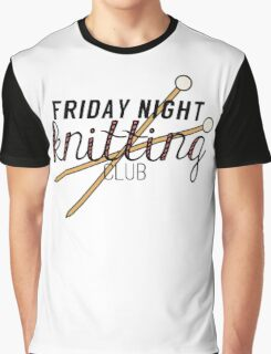 Friday Night Knitting Club Graphic T-Shirt