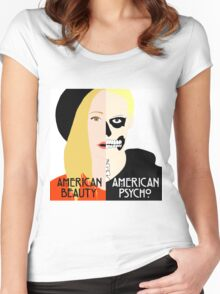 American Beauty, American Psycho Women's Fitted Scoop T-Shirt