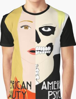 American Beauty, American Psycho Graphic T-Shirt