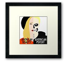 American Beauty, American Psycho Framed Print