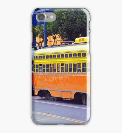 San Francisco Trolley Cars iPhone Case/Skin