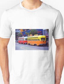 San Francisco Trolley Cars T-Shirt