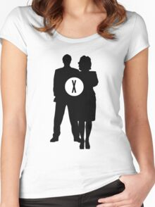Skully and Mulder Women's Fitted Scoop T-Shirt
