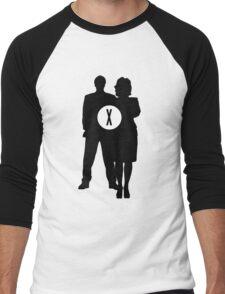 Skully and Mulder Men's Baseball ¾ T-Shirt