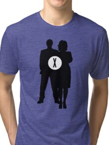 Skully and Mulder Tri-blend T-Shirt