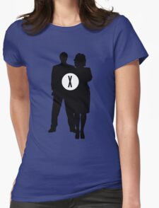 Skully and Mulder Womens Fitted T-Shirt