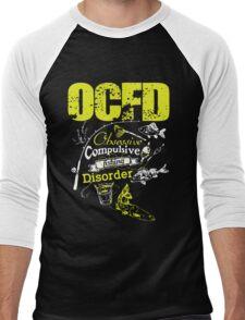 Obsessive Compulsive Fishing Disorder Men's Baseball ¾ T-Shirt