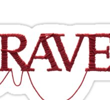 unravel Sticker