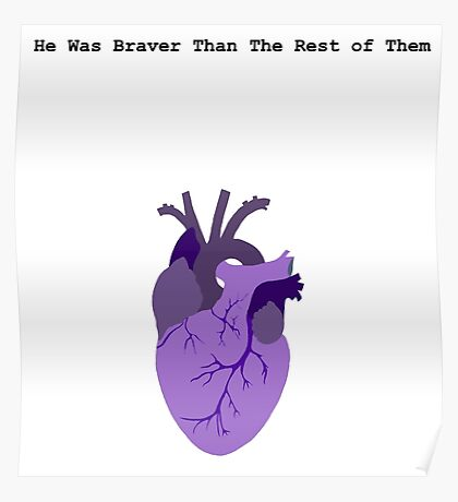 He Was Braver than the Rest of Them Poster