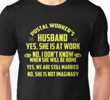 Postal Worker's Husband Unisex T-Shirt