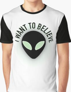 The X Files - I Want to Believe Graphic T-Shirt