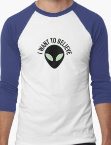 The X Files - I Want to Believe Men's Baseball ¾ T-Shirt