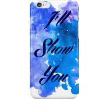 I'll Show You - Justin Bieber inspired Black iPhone Case/Skin